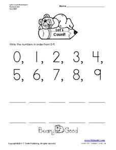 Let's Count! Worksheet