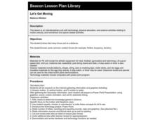 Let's Get Moving Lesson Plan