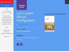 Let's Learn About Firefighters! Lesson Plan
