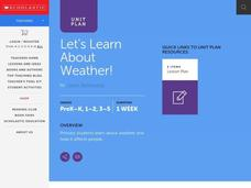Let's Learn About Weather! Lesson Plan