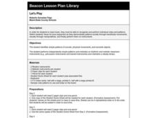LET'S PLAY Lesson Plan