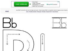 Letter Bb Worksheet