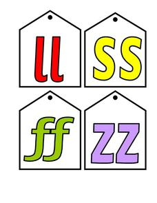 Letter Cards Worksheet