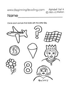 Letter G Words Lesson Plan