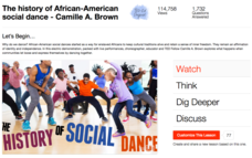 The History of African-American Social Dance Video