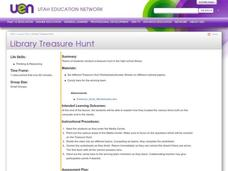 Library Treasure Hunt Lesson Plan
