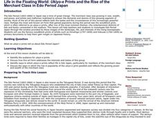 Life in the Floating World: Ukiyo-e Prints and the Rise of the Merchant Class in Edo Period Japan Lesson Plan