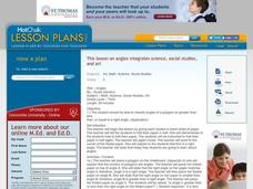 Math, Science, Social Studies, Art - Title - Angles Lesson Plan