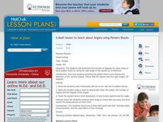 Math - Angles Lesson Plan