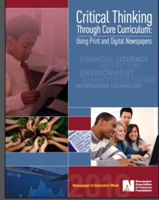 Critical Thinking through Core Curriculum: Using Print and Digital Newspapers Unit