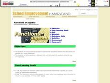 Linear Relationships - Standard Form Lesson Plan