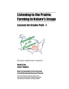 Listening To The Prairie Lesson Plan