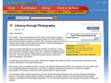 Literacy through Photography Lesson Plan