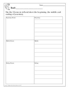 Literature Response Worksheet