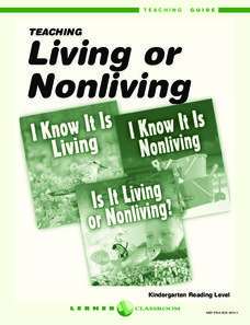 Living or Nonliving Unit