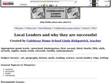 Local Leaders and Why They are Successful Lesson Plan