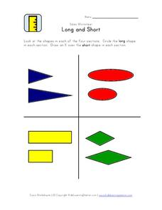 Long and Short Worksheet