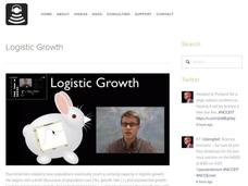 Logistic Growth Video