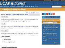 Looking Into Surface Albedo Lesson Plan