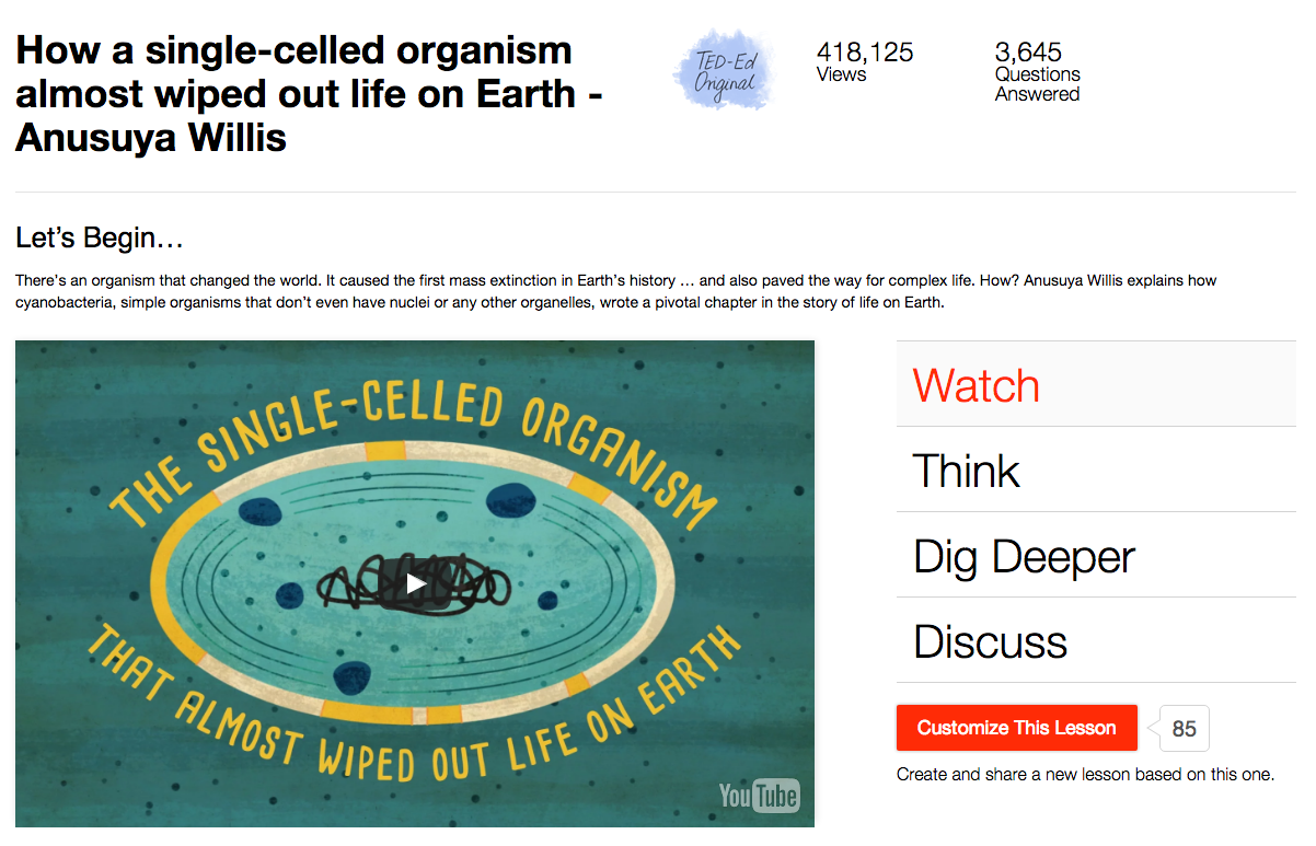 How a Single-Celled Organism Almost Wiped out Life on Earth Video