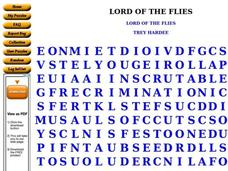 Lord of the Flies Worksheet