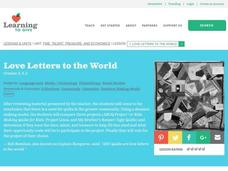 Love Letters to the World Lesson Plan