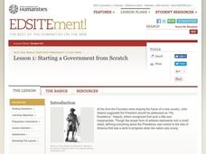 Lost Hero: Starting a Government from Scratch Lesson Plan
