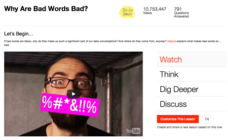 Why Are Bad Words Bad? Video