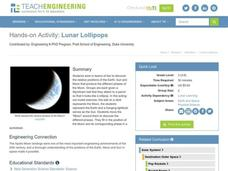 Lunar Lollipops Lesson Plan