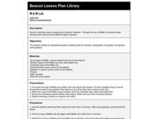 M & M Lab Lesson Plan