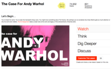 The Case For Andy Warhol Video