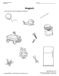 Magnets Worksheet