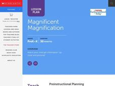 Magnificent Magnification Lesson Plan