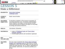 Make a difference Lesson Plan