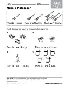Make a Pictograph Worksheet