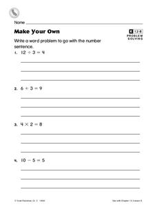 Make Your Own Worksheet