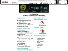 Making a Musical Instrument Lesson Plan
