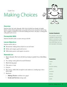 Making Choices Lesson Plan