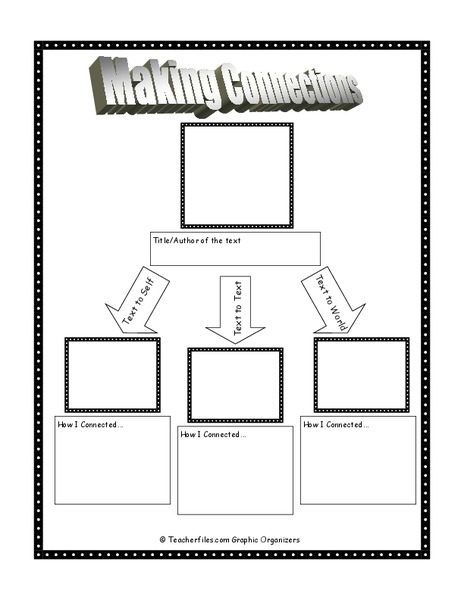 Making Connections 3rd - 10th Grade Worksheet | Lesson Planet