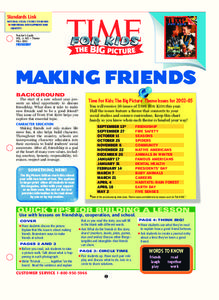 Making Friends Lesson Plan