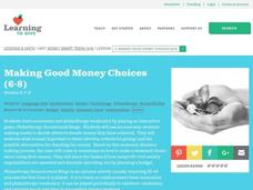 Making Good Money Choices Lesson Plan