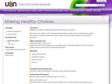 Making Healthy Choices Lesson Plan