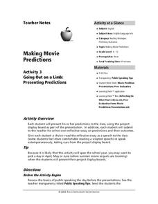 Making Movie Predictions Lesson Plan