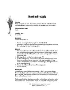Making Pretzels Lesson Plan
