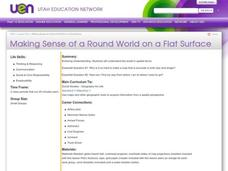 Making Sense Of A Round World On A Flat Surface Lesson Plan
