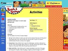 Making Shapes Lesson Plan