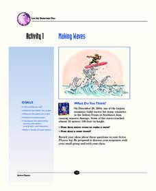 ocean waves crests lesson plans worksheets reviewed by teachers. Black Bedroom Furniture Sets. Home Design Ideas
