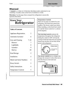 Manual Worksheet