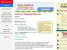 Mapping Districts Lesson Plan