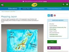 Mapping Japan Lesson Plan